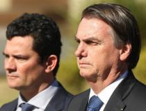 Moro desmente Bolsonaro ao vivo sobre exoneração 'a pedido' na Polícia Federal