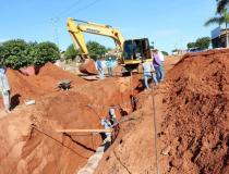 Prefeitura Municipal de Alcinópolis investe mais de R$1 Milhão em serviços de Drenagem, instalação e aquisição de Tubos.