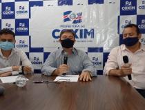 Edilson anuncia mais um fim de semana de lockdown com lei seca em Coxim