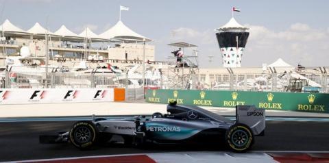Rosberg lidera segundo treino em Abu Dhabi