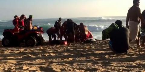 Surfista brasileiro segue em coma após acidente no Havaí
