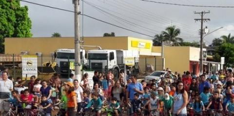 Passeio Ciclístico atrai mais de 900 pessoas em Alcinópolis