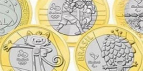 Moedas de R$ 1 das Olimpíadas Rio 2016 são vendidas por até R$ 7 mil na web
