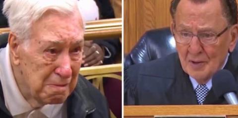 Juiz perdoa multa de trânsito de idoso de 96 anos que levava filho de 63 ao médico