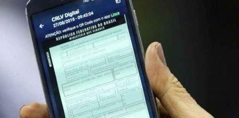 Conhece a CRLV digital? Versão on-line deve substituir documentos impressos