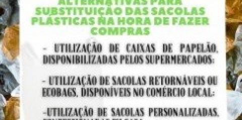 Mercados em Alcinópolis já estão cobrando R$0,05 por sacolinha plástica