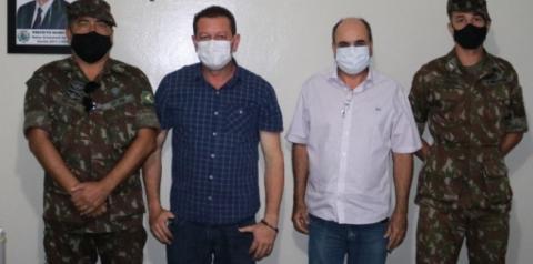 Primeiro Tenente Wilson visita Alcinópolis para realizar a atualização de Conhecimento do Processo de Serviço Militar