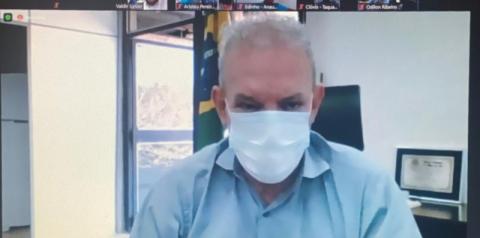 Secretário de Saúde agradece prefeitos pelo empenho na vacinação contra Covid-19