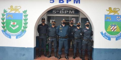 5º Batalhão de Polícia Militar de Coxim recepciona novos Soldados da PMMS