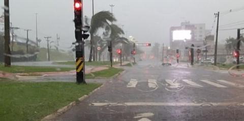 Passagem de frente fria traz chuva e ameniza calor em Mato Grosso do Sul