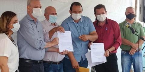 Juvenal Consolaro ganha aparelho de Ultrassom para o Hospital de Figueirão-MS