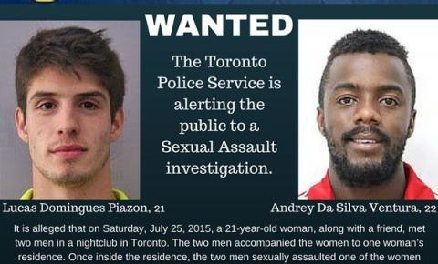 Lucas Piazon e Andrey são acusados de abuso sexual no Canadá