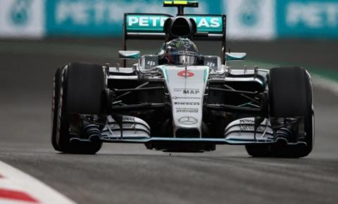 Nico Rosberg larga na pole no México; Felipe Massa é 7º
