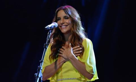 Ivete Sangalo faz show beneficente no Recife