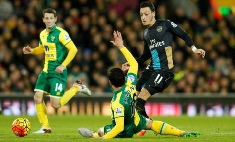 Futebol Internacional: Arsenal só empata e perde chance de chegar à ponta