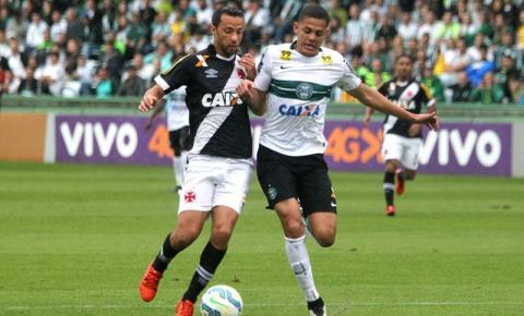 Vasco empata sem gols com o Coritiba e cai para a Série B