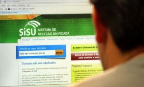 Sisu terá 228 mil vagas em instituições do ensino superior