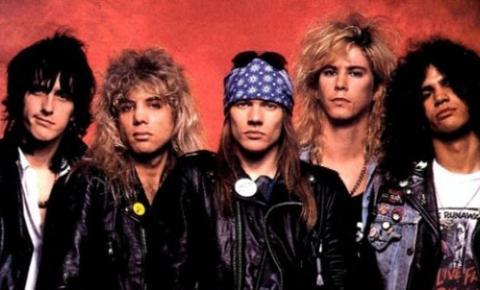 Reunião de Guns N' Roses acontecerá em festival