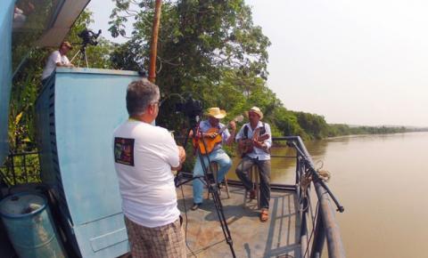 Artistas coxinenses participam de filme sobre o Pantanal