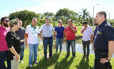 Prefeitura inicia preparativos para a 13ª Festa do Peixe