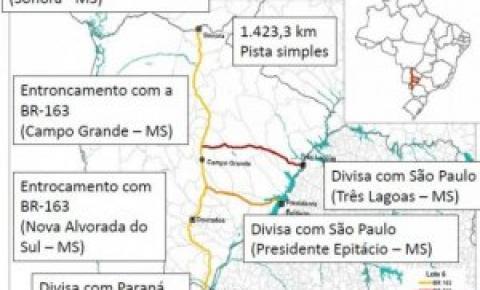 Rodovias do MS ficam fora do pacote de privatizações do Governo Federal