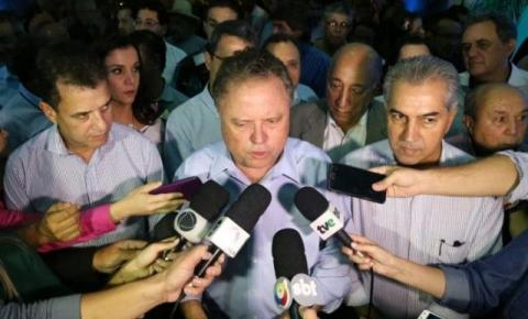 Reinaldo e Maggi abrem Expogrande exaltando força da carne brasileira