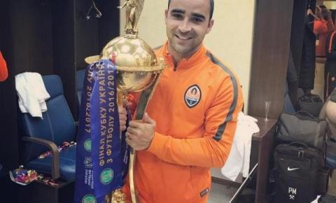 Zagueiro do MS conquista Liga Nacional e Copa da Ucrânia pelo Shakhtar