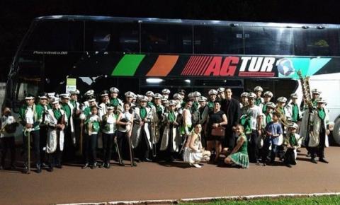 Banda de Alcinópolis encanta população em 37º aniversário de Selvíria