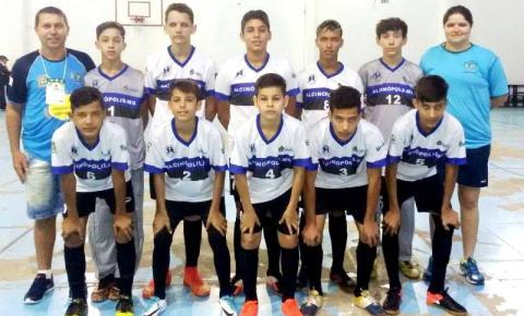 Futsal de Alcinópolis está entre os 10 melhores no JEMS 2017