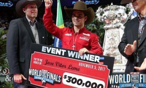 Revelação do ano nos rodeios, campeão em Las Vegas é de MS