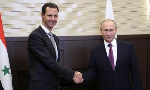 Putin leva conflito da Síria ao campo político
