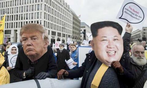 Donald Trump diz ter botão nuclear 'maior'