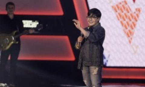 Representando o Estado, Matheus canta Marisa Monte e é promessa no The Voice Kid