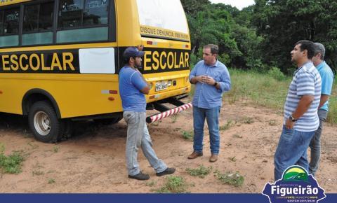 Frota Municipal de Veículos do Transporte Escolar passa por vistoria geral