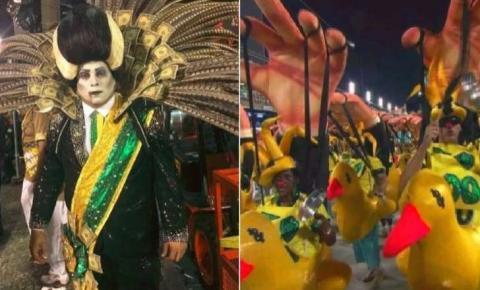 Reação de narradores da Globo a desfile provoca polêmica