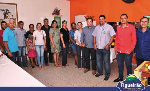 Conselho Municipal de Turismo de Figueirão se reúne com membros do Executivo