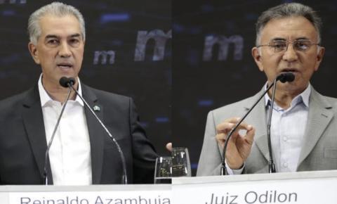 Reinaldo e Odilon trocam acusações e sobem tom no 1º debate do 2º turno