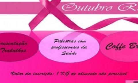 Acadêmicos de enfermagem da Unopar Polo Coxim promovem palestras no Outubro Rosa