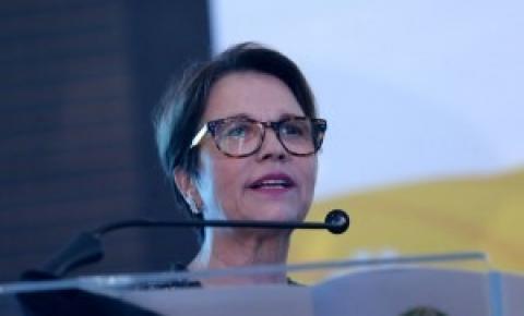 Futura ministra da Agricultura diz que fusão com Meio Ambiente trará ônus