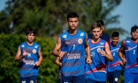 Atleta de Alcinópolis treina em Dourados para disputa da Copa São Paulo de Juniores