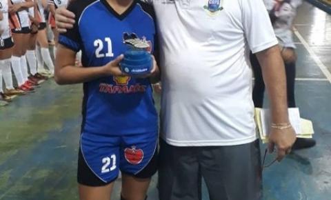 Atleta Alcinopolense é Destaque em Campeonato Estadual de Futsal Feminino