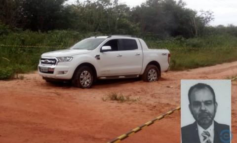Advogado é encontrado morto dentro de caminhonete em Coxim