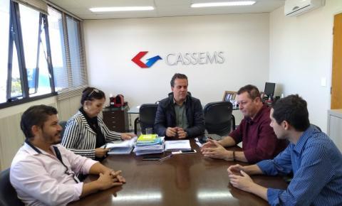 Gestores de Alcinópolis se reúnem com presidente da Cassems