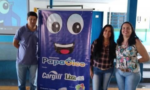Escola Municipal de Alcinópolis realiza projeto de reciclagem do óleo de cozinha usado