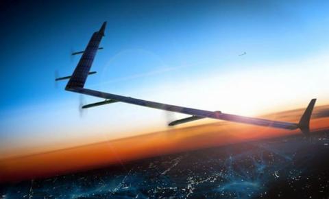Facebook anuncia drone gigante para levar internet a áreas remotas do planeta