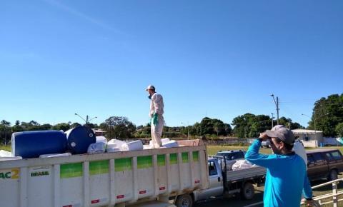 Coleta itinerante recolhe mais de três mil embalagens de defensivos agrícolas em Alcinópolis