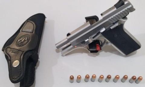 Advogado é preso com arma depois de ameaçar funcionário de usina em Costa Rica