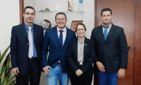 Em Brasília, prefeito Dalmy Crisóstomo pede à ministra Tereza Cristina patrulha mecanizada para Alcinópolis