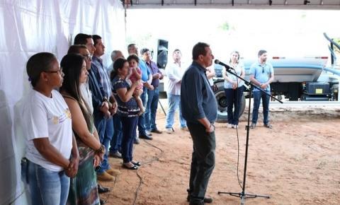 Administração municipal lança mais uma obra de drenagem e pavimentação asfáltica em Alcinópolis