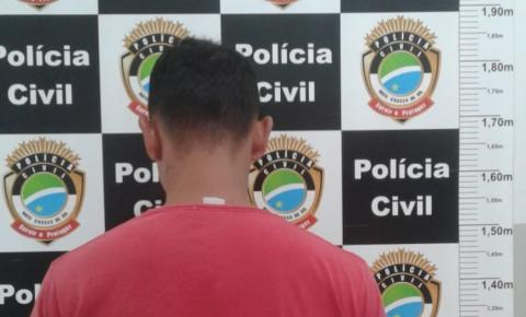Polícia Civil de Costa Rica captura condenado pelo homicídio de uma adolescente em ocorrido em 2014